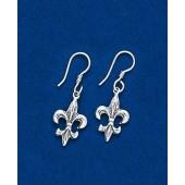 Fleur de lis Double Sided Earring