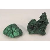 Malachite Raw Clusters