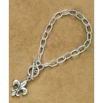 Fleur de lis Classic Design Bracelet