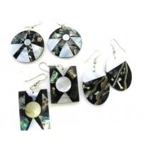 Mosaic Shell Earring
