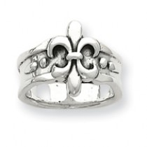 Fleur de lis Medium Weight Band