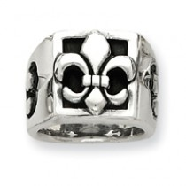Fleur de lis Heavy Weight Men's Band