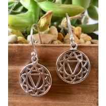 Chakra Symbol Earring