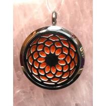 Chakra Symbol Aromatherapy Pendant #2