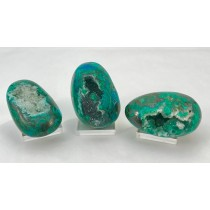 Chrysocolla Druzy Polished Large
