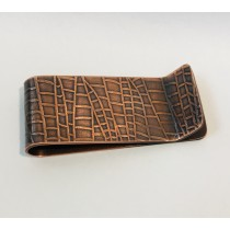 Copper Web Money Clip