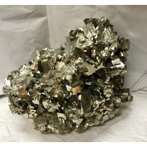Pyrite Large Cluster