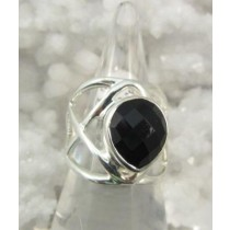 Black Onyx Lattice Band