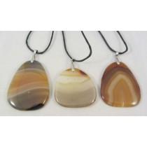 Carnelian Agate Freeform pendants