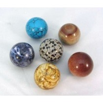 Gemstone Polished Spheres 30mm