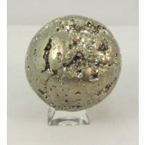 Pyrite Polished Sphere Medium