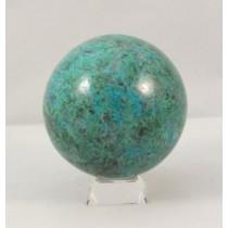 Chrysocolla Polished Sphere Large
