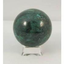 Chrysocolla Polished Sphere Medium