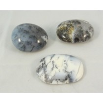 Dendritic Agate Polished Pebbles Large