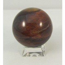 Red Tiger Eye Polished Sphere
