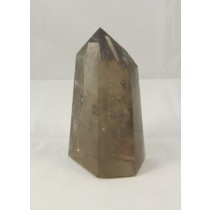 Smoky Quartz Polished Point Madagascar