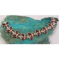 Amber Butterfly Bracelet