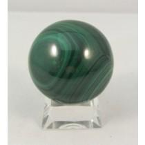 Malachite Polished Sphere Medium