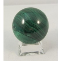 Malachite Polished Sphere Small