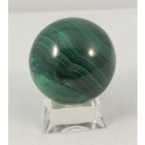 Malachite Polished Sphere Small