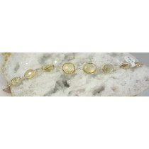Citrine Faceted Lightweight Bracelet