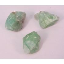 Green Calcite Raw Chunks
