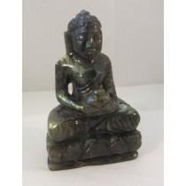 Labradorite Carved Buddha