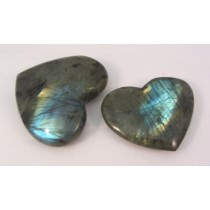 Labradorite Premium Quality Polished Hearts