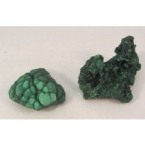 Malachite Raw Clusters
