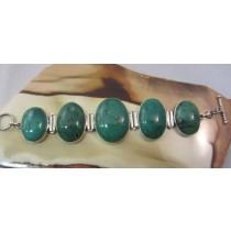 Cabachon Turquoise Bracelet