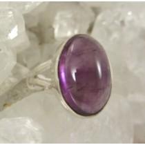 Amethyst Cabachon Premium Quality Ring