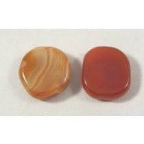 Carnelian Polished Coin