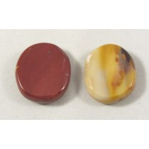 Mookaite Polished Coin