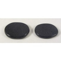 Blue Goldstone Flat Smooth Stone