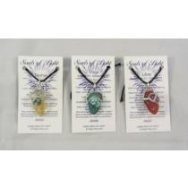 Zodiac Gemstone Pendant