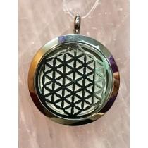 Chakra Symbol Aromatherapy Pendant #1