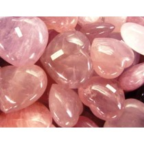 Rose Quartz Hearts Medium