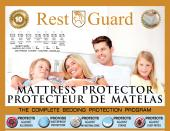 "FULLY ENCLOSED ALLERGY, DUST MITE & BED BUG COVER QUEEN SIZE-60""X80"",PLEASE INCLUDE YOUR MATTRESS & BOX SPRING HEIGHT IN YOUR ORDER"