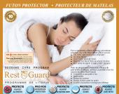 DON'T LET THE BED BUGS BITE WITH THIS FULLY ENCLOSED DUST MITE AND BED BUG COVER