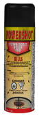 Power Shot Flying Insect Killer Pro kills and repels stable flies, horse flies, face flies, deer flies, house flies, horn flies, mosquitoes, biting mites, wasps, flying moths, crawling insects, cockroaches, spiders, crickets, ants, carpet beetles, centipe
