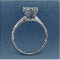 AFS-0003-6 Prong Small Solitaire Engagement Ring