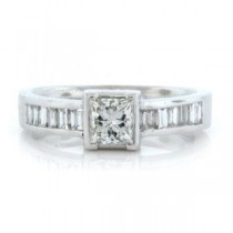 AFS-0023 Diamond Engagement Ring