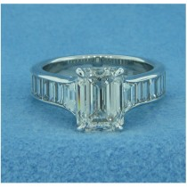 AFS-0024 Diamond Engagement Ring