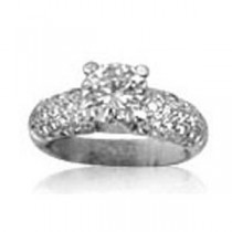 AFS-0047 Diamond Engagement Ring