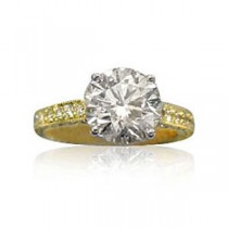 AFS-0063 Diamond Engagement Ring