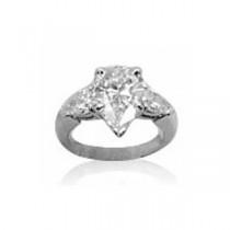 AFS-0090 Three Stone Diamond Engagement Ring