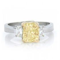 AFS-0145 Three Stone Diamond Engagement Ring
