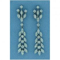 E1003 Diamond Drop Earrings
