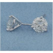 E1187 Diamond Stud Earrings