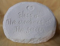 Bless the Creatures stone